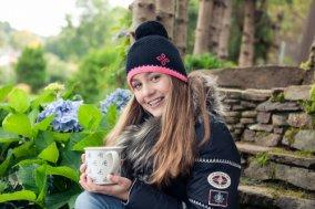 Zimní pletené čepice
