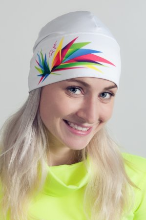 Bílá sportovní outdoorová čepice ORIGAMI