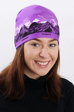 Dámská fialová sportovní outdoorová čepice